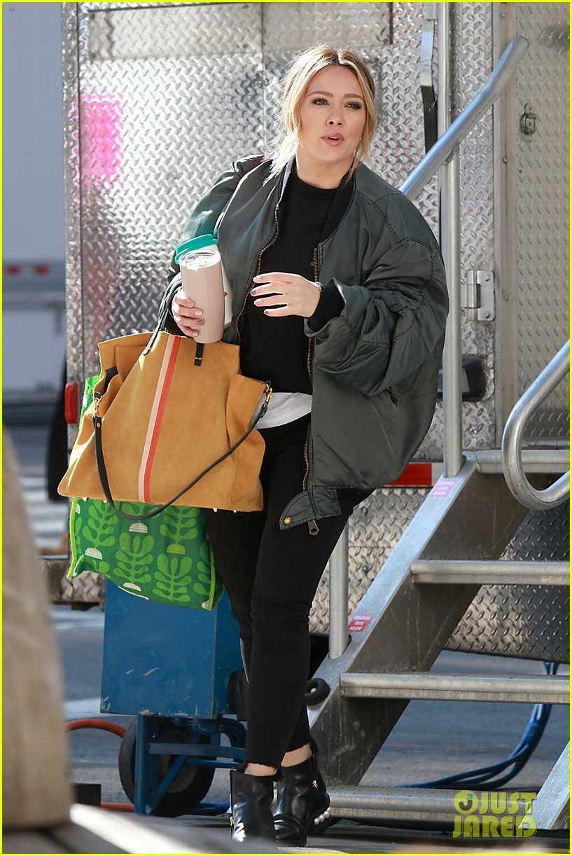 hilary duff is all smiles while filming younger in nyc 05
