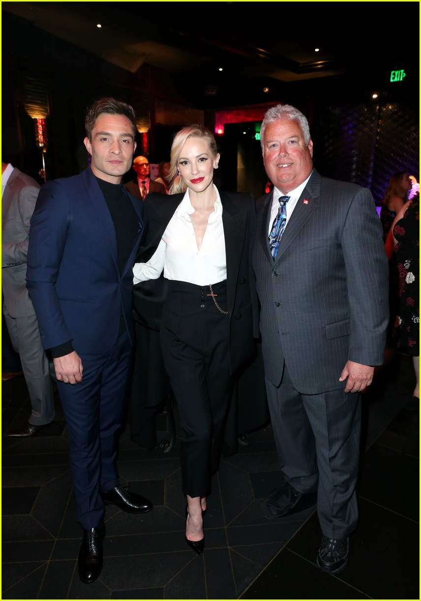 ed westwick uncommon courage gala hollywood march 2019 18