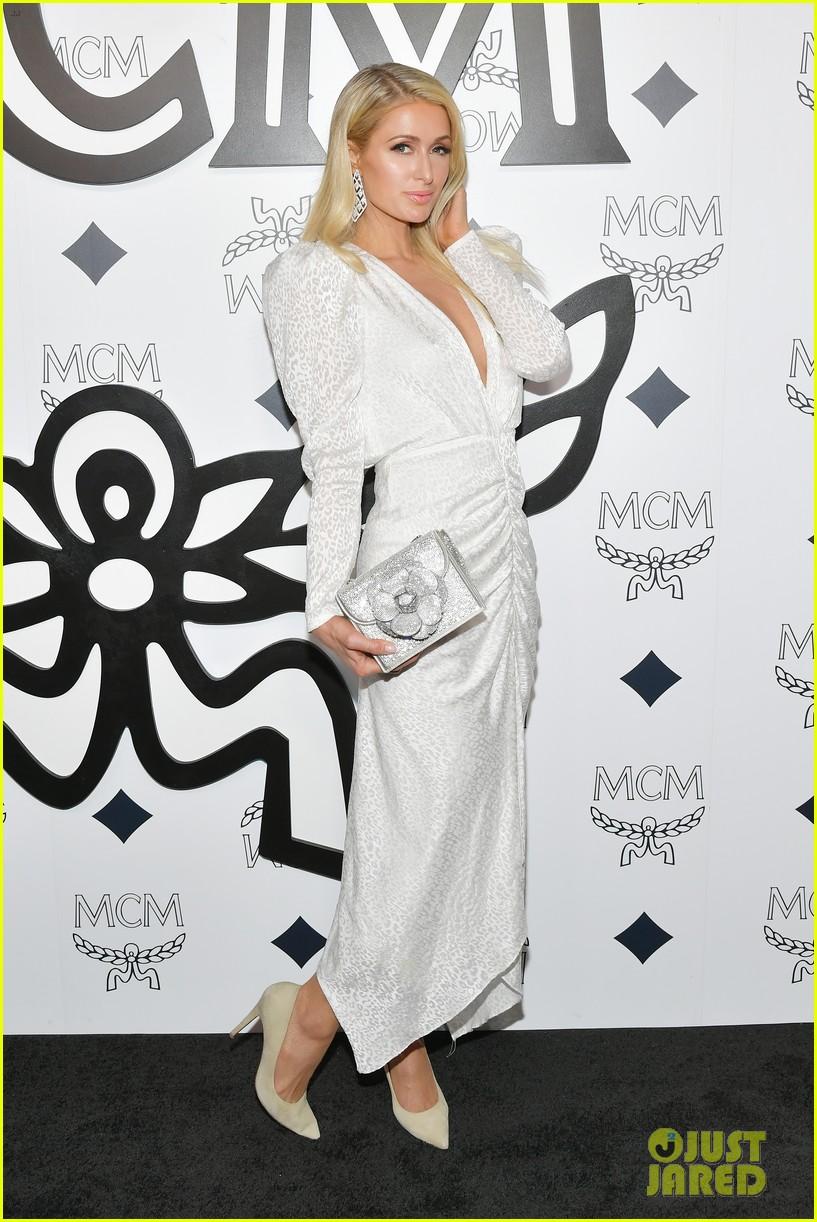 billie eilish paris nicky hilton celebrate mcm global flagship store opening 10