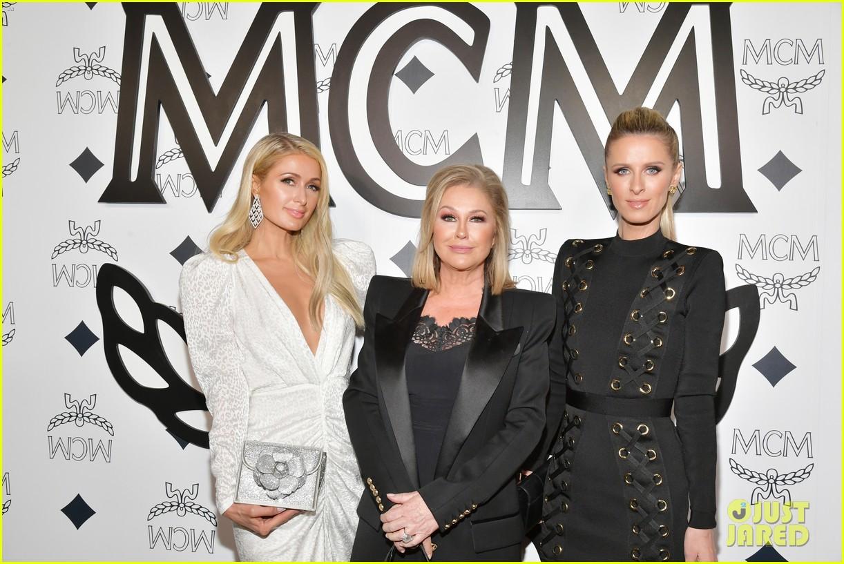 billie eilish paris nicky hilton celebrate mcm global flagship store opening 15