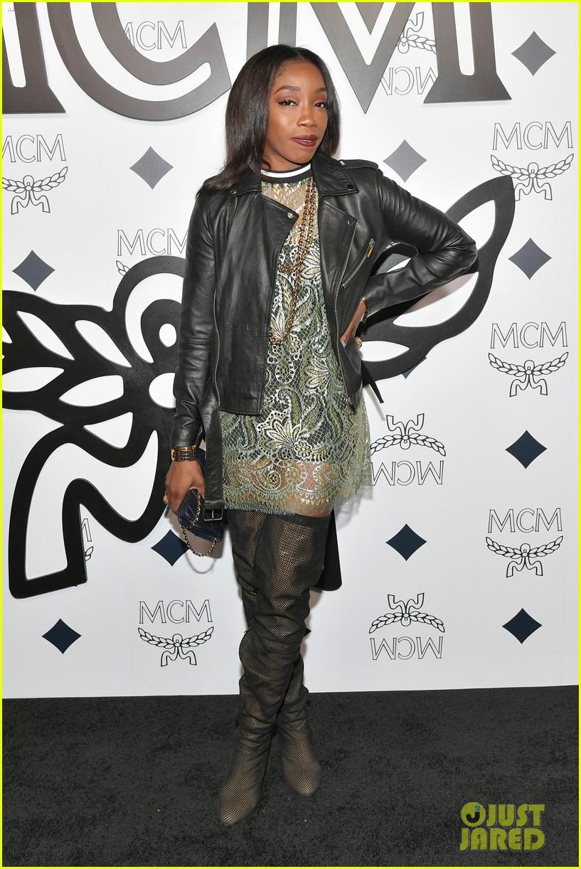 billie eilish paris nicky hilton celebrate mcm global flagship store opening 20