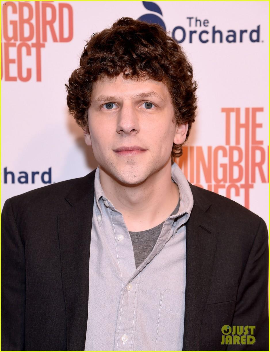 jesse eisenberg joins hummingbird project cast at new york screening 01