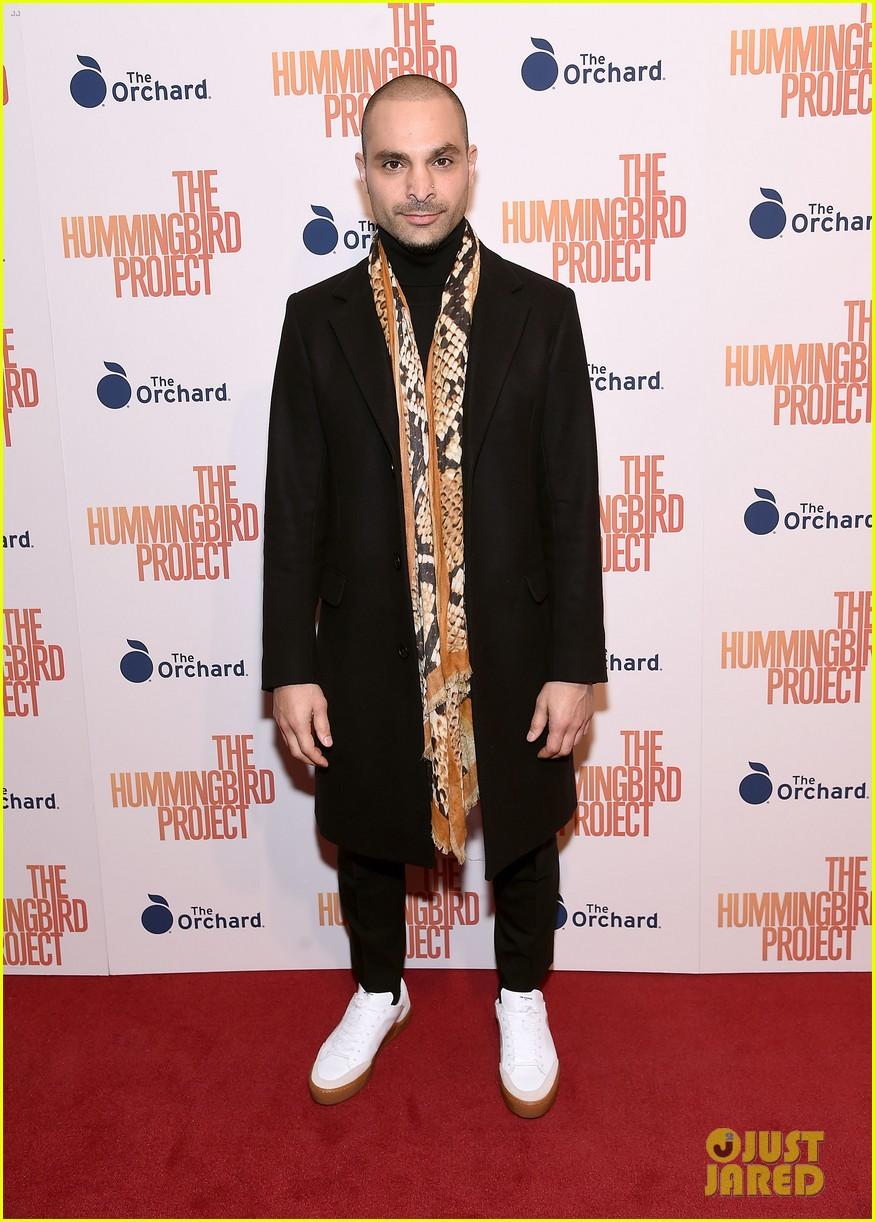 jesse eisenberg joins hummingbird project cast at new york screening 10