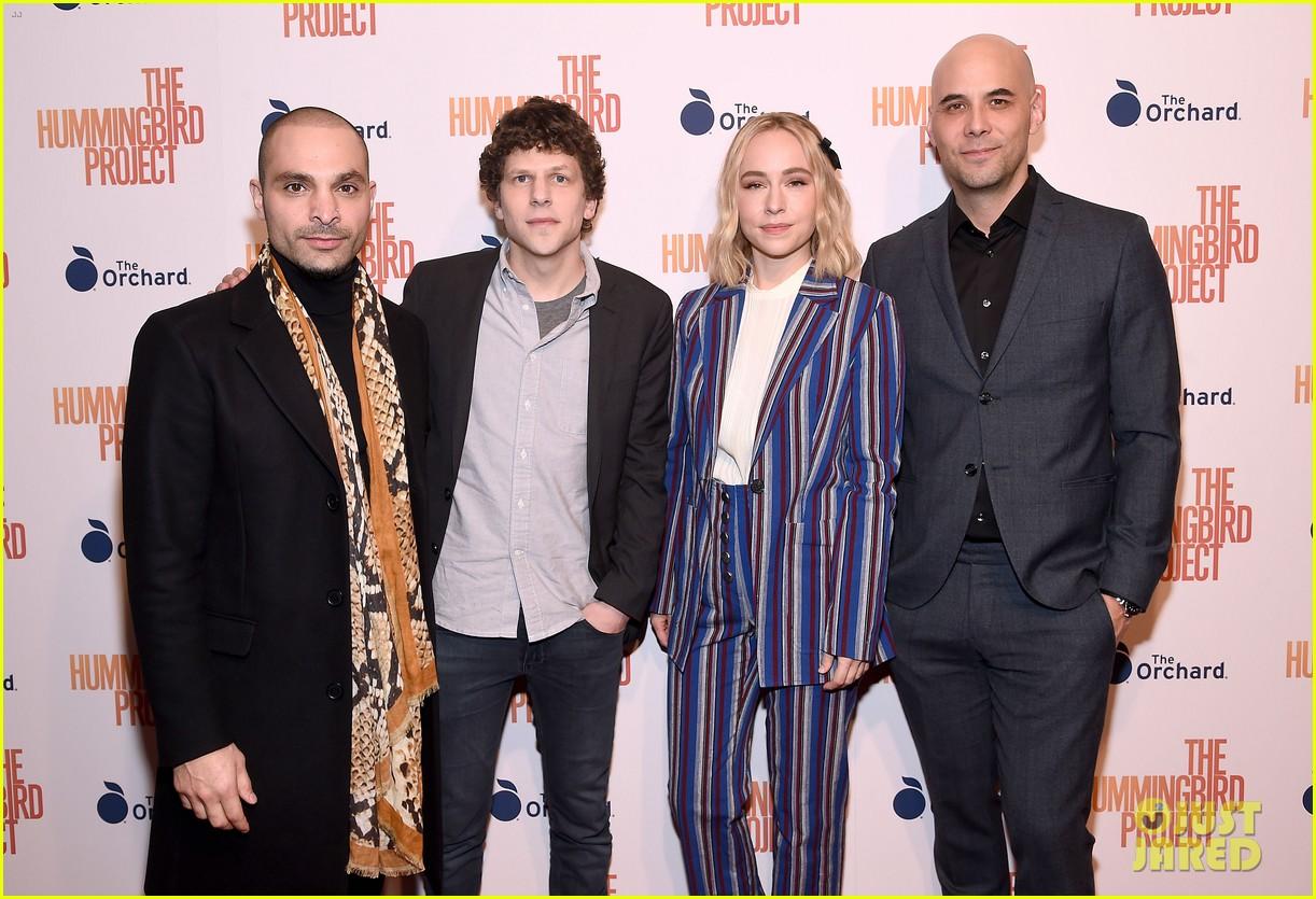 jesse eisenberg joins hummingbird project cast at new york screening 11