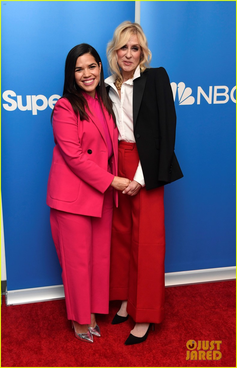 america ferrera reunites with ugly betty co star judith light at superstore qa 044252546