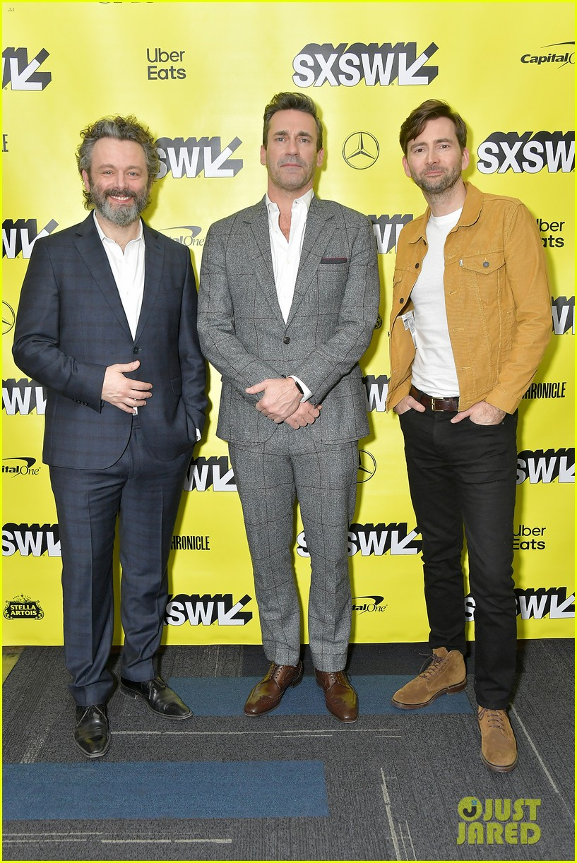 jon hamm michael sheen neil gaiman good omens sxsw 03