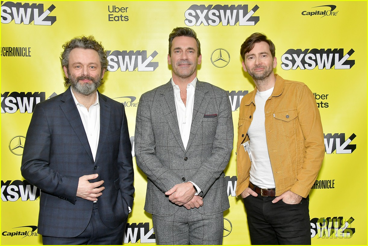 jon hamm michael sheen neil gaiman good omens sxsw 15