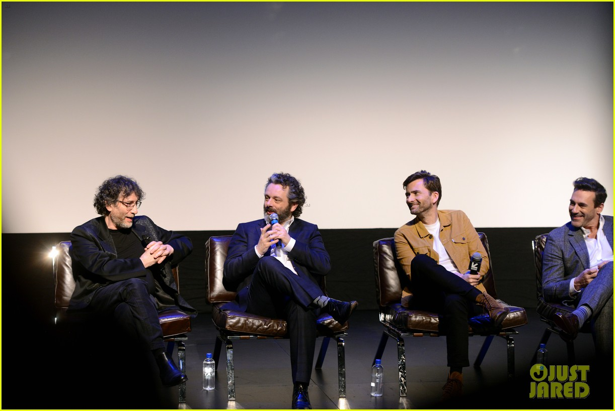 jon hamm michael sheen neil gaiman good omens sxsw 17