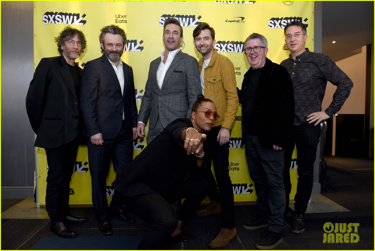 jon hamm michael sheen neil gaiman good omens sxsw 18