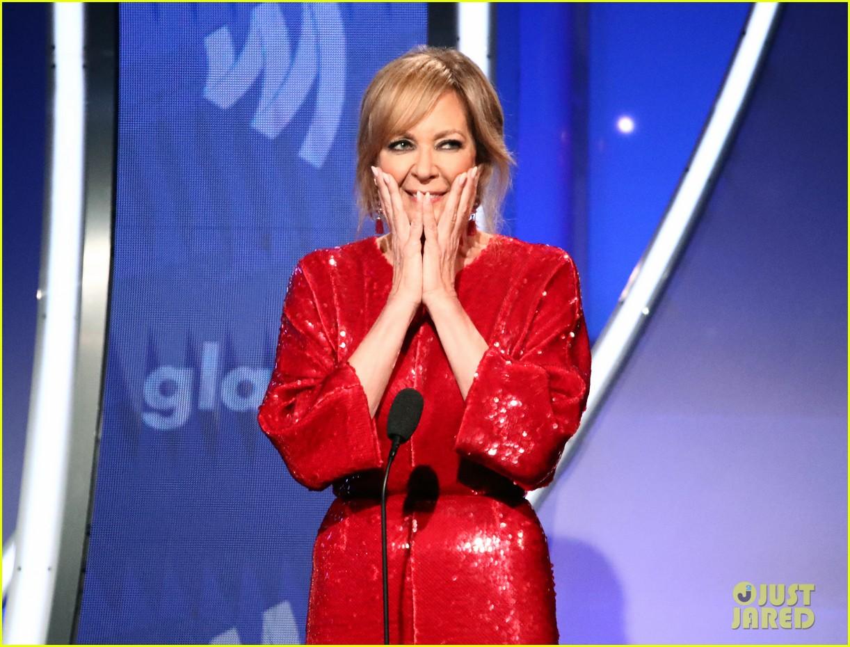 sean hayes allison janney glaad media awards 03