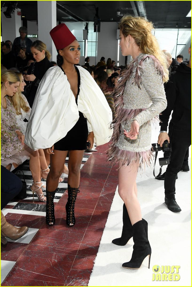 amber heard janelle monae buddy up at giambattista valli paris fashion show 324251243