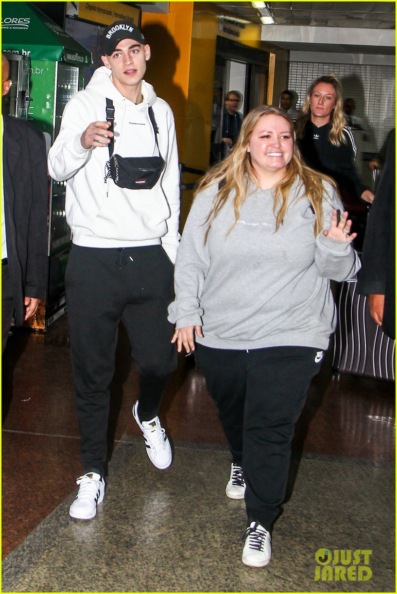 hero fiennes tiffin arrives in brazil for after premiere 074257332