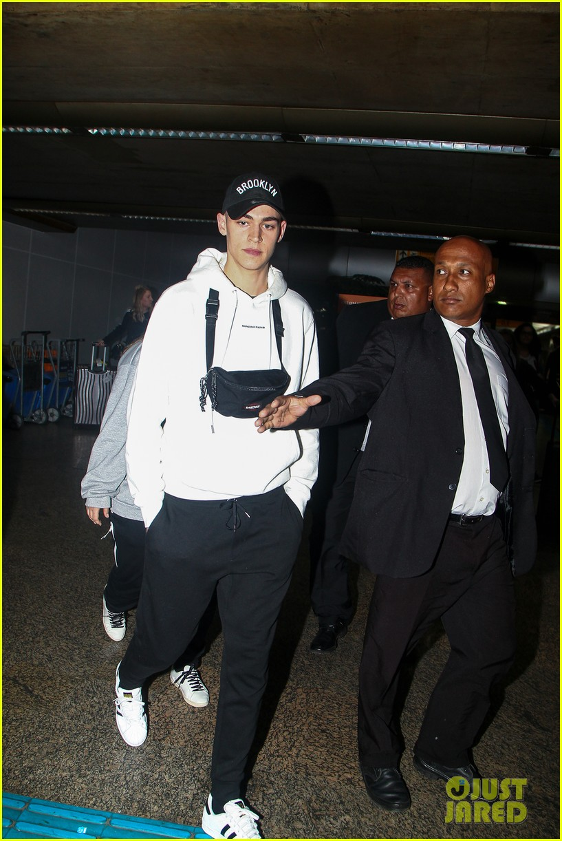 hero fiennes tiffin arrives in brazil for after premiere 094257334