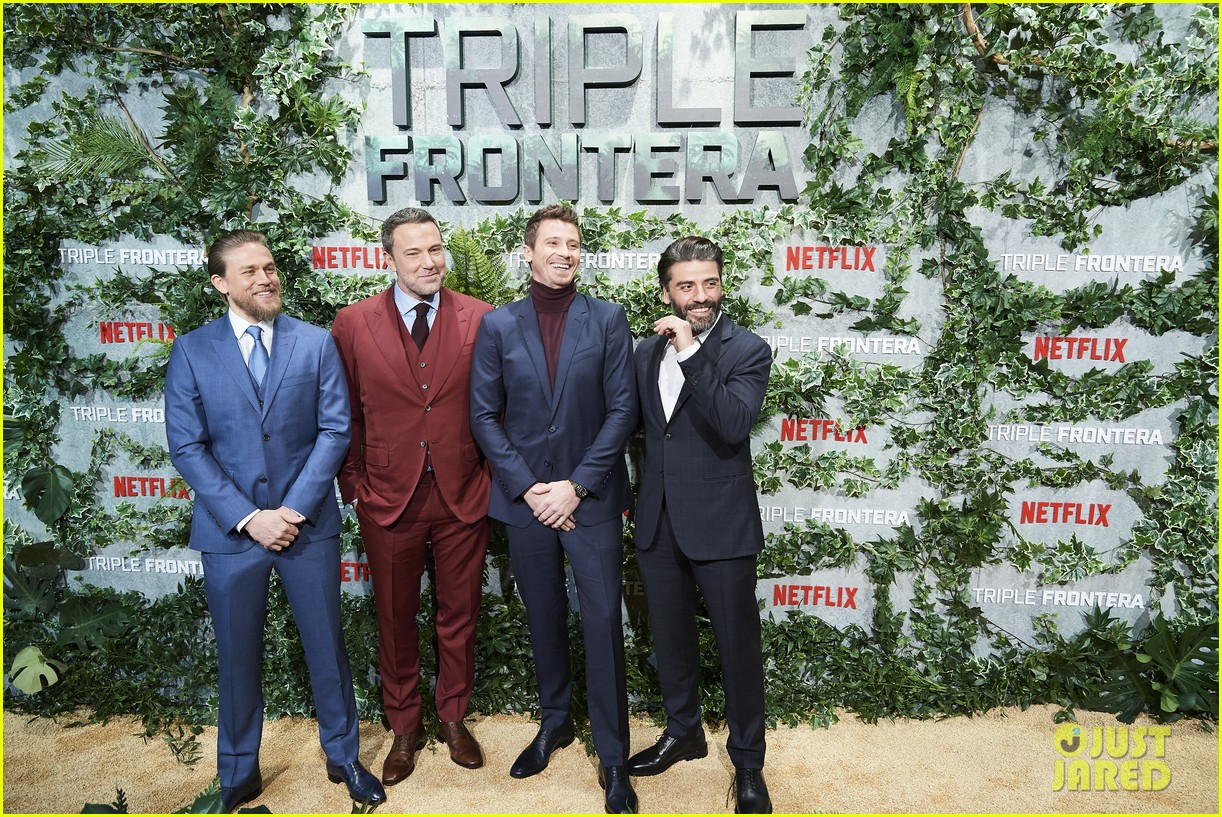 charlie hunnam ben affleck garrett hedlund triple frontier 074252934