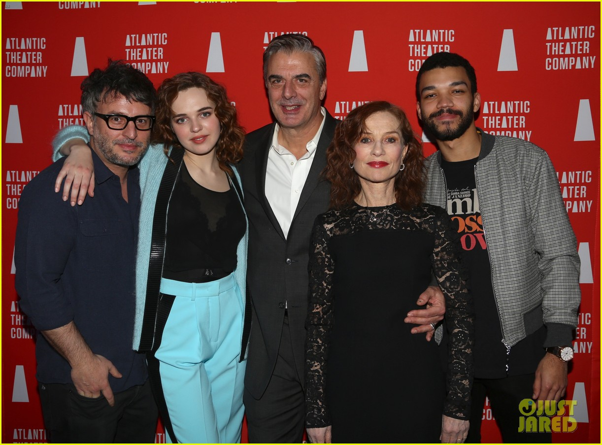 isabelle huppert celebrates the mother opening night 034255550