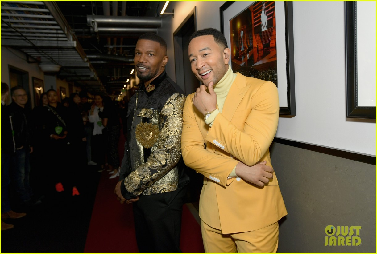 jamie foxx pharrell williams 2019 iheartradio awards 154257255