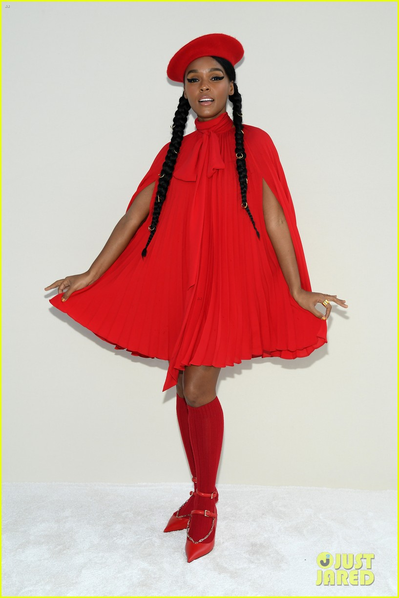 janelle monae lili reinhart katherine langford ladies in red at valentino 054250696