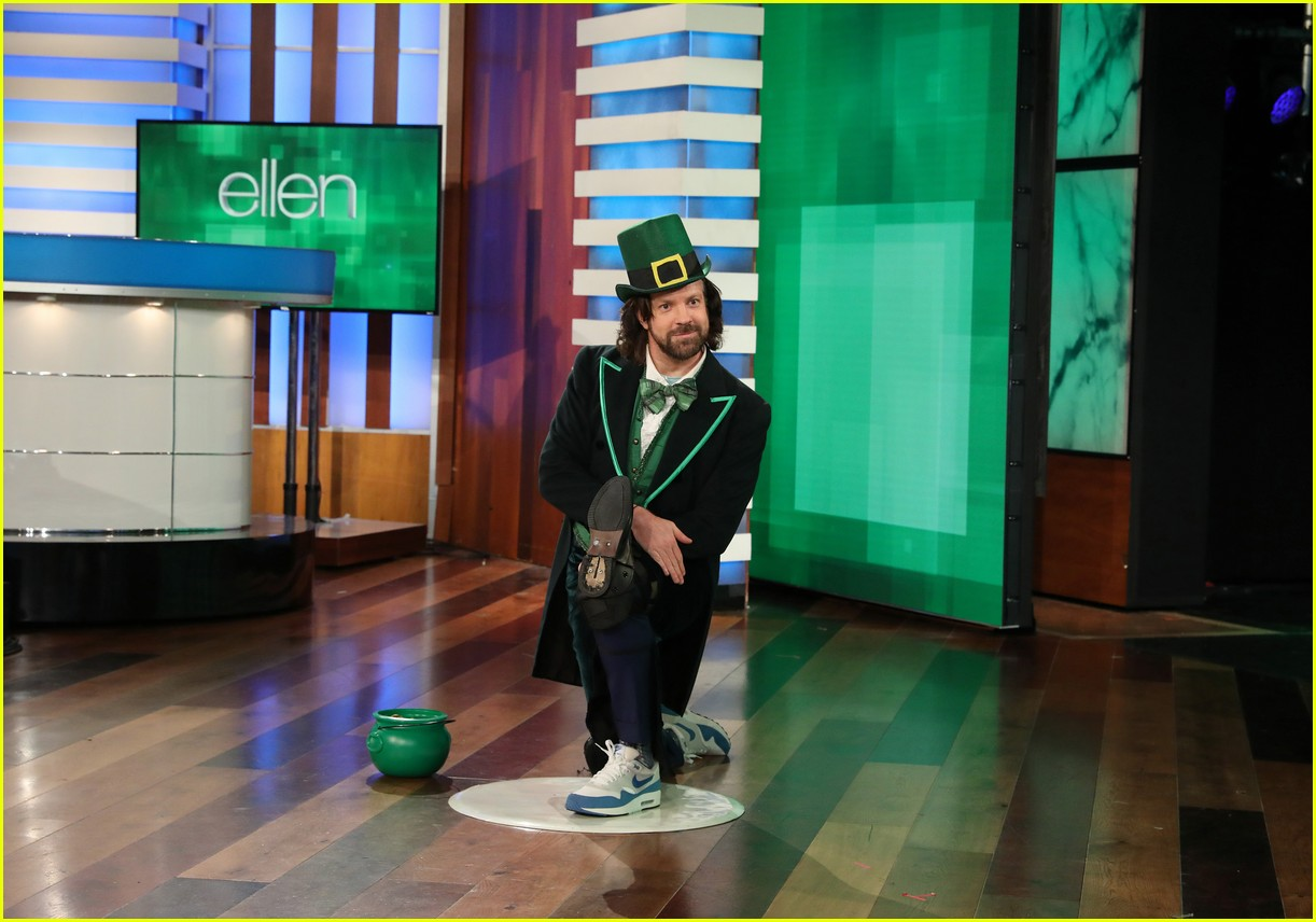 jason sudeikis ellen show march 2019 13