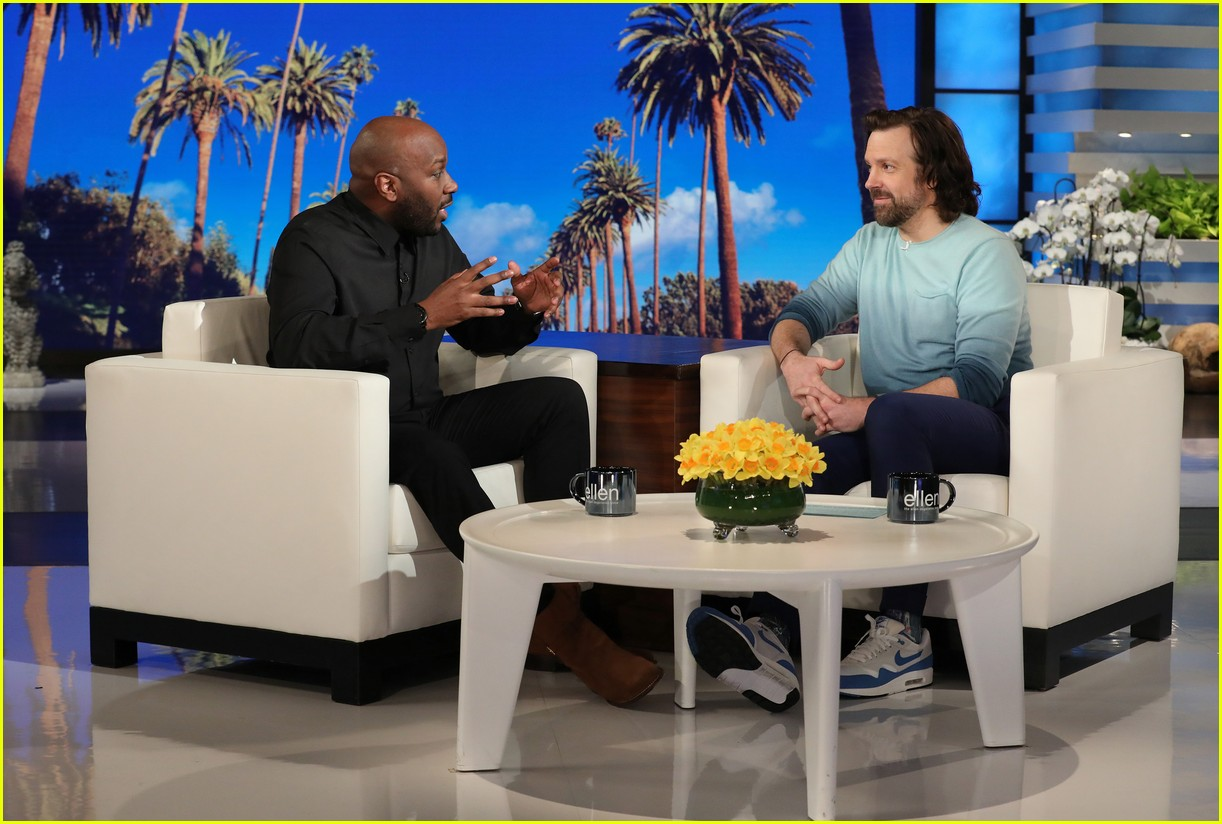 jason sudeikis ellen show march 2019 16