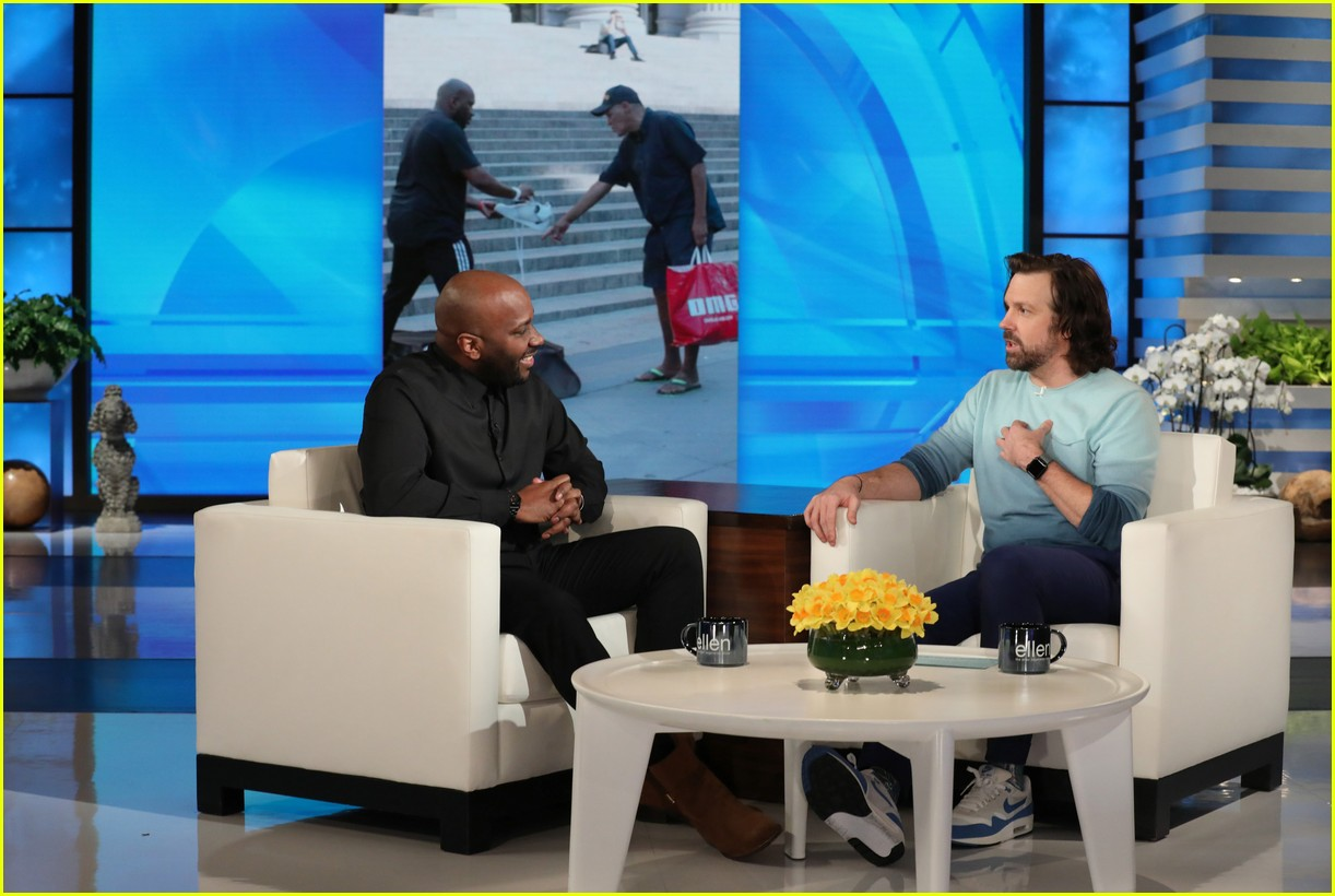 jason sudeikis ellen show march 2019 17