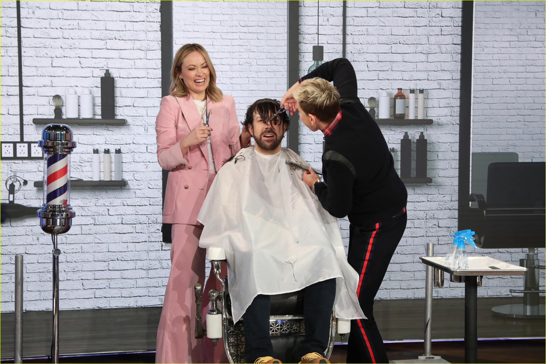 jason sudeikis haircut olivia wilde ellen degeneres 024258391