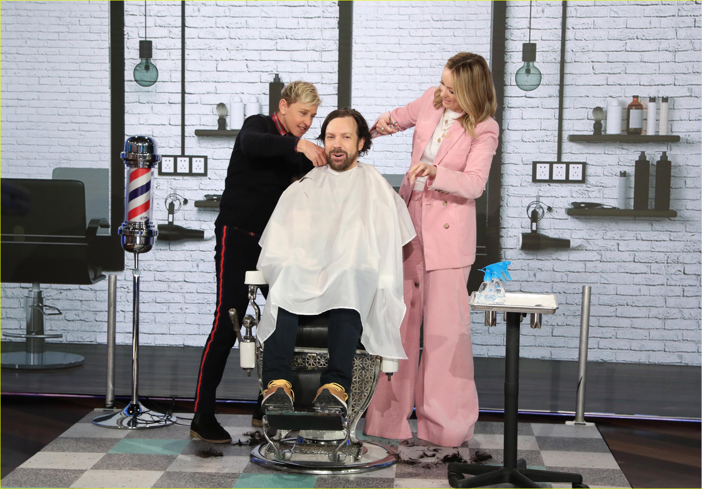 jason sudeikis haircut olivia wilde ellen degeneres 044258393