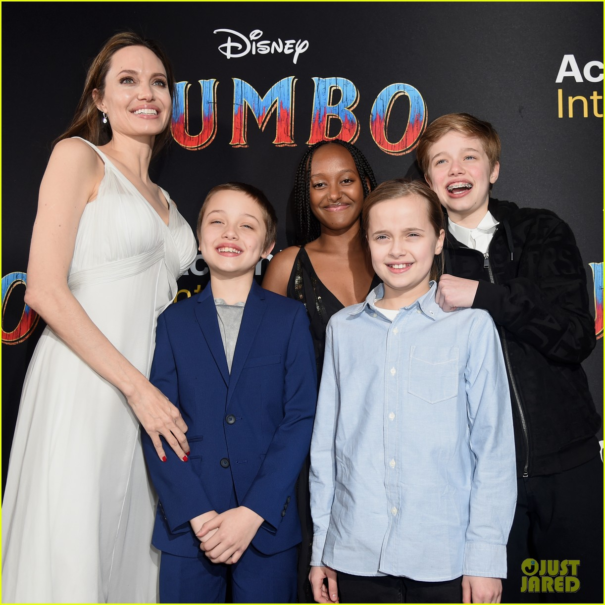 angelina jolie dumbo premiere with kids 174255450