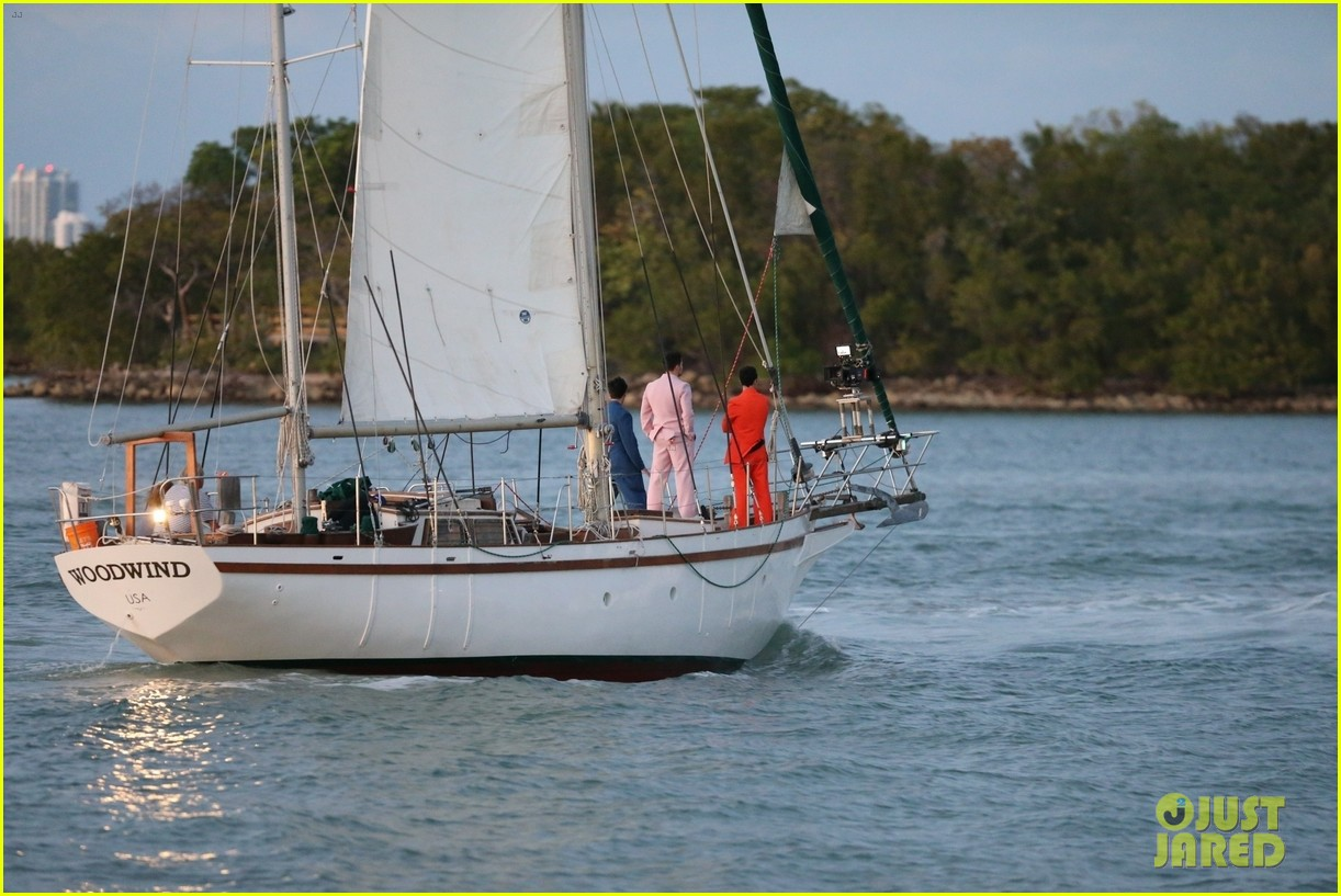 jonas brothers film boat 384262126