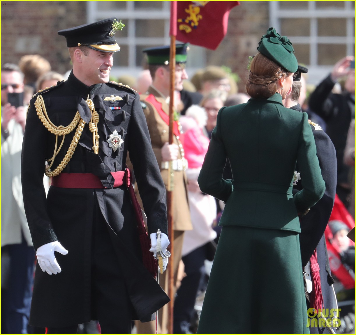 prince william kate middleton st patricks day 2019 20