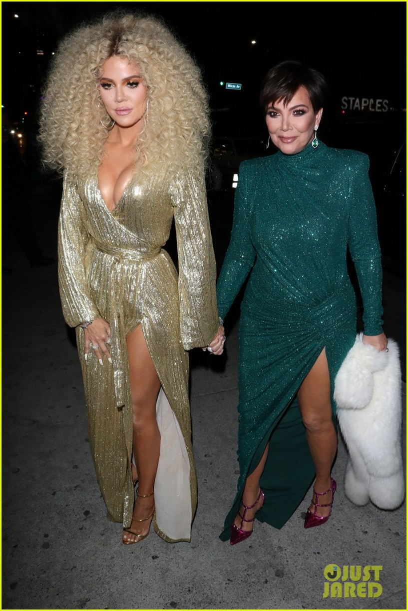 khloe kardashian kris jenner diana ross party 01