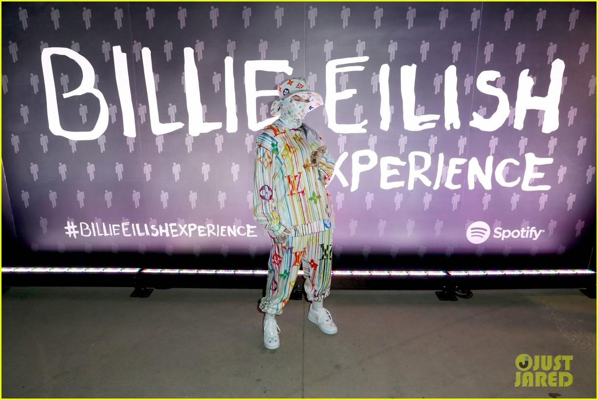heidi klum billie eilish spotify pop up experience 10