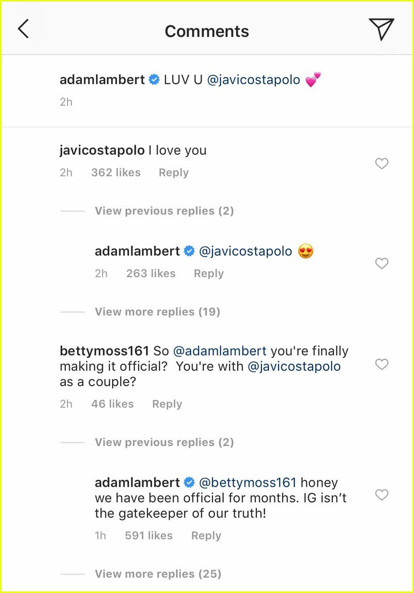 adam lambert confirms he is dating javi costa polo 014263399