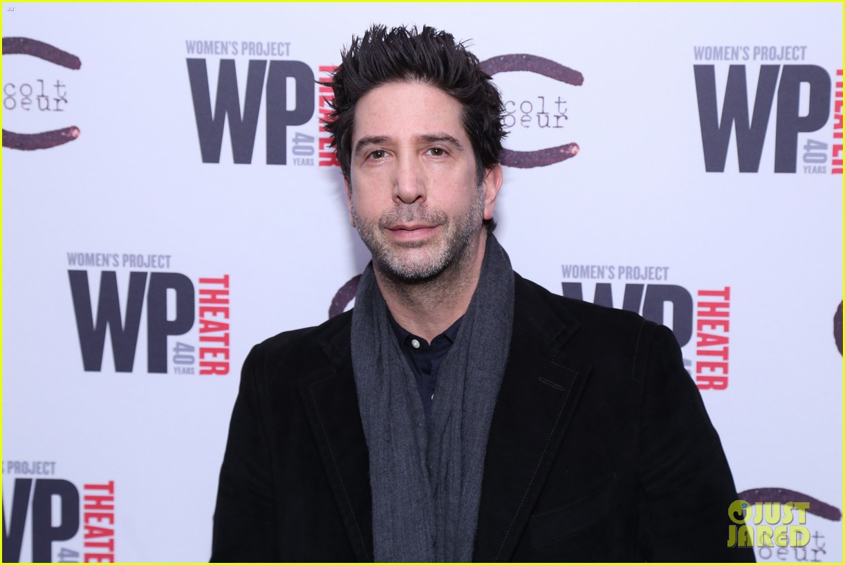 david schwimmer off broadway opening 01
