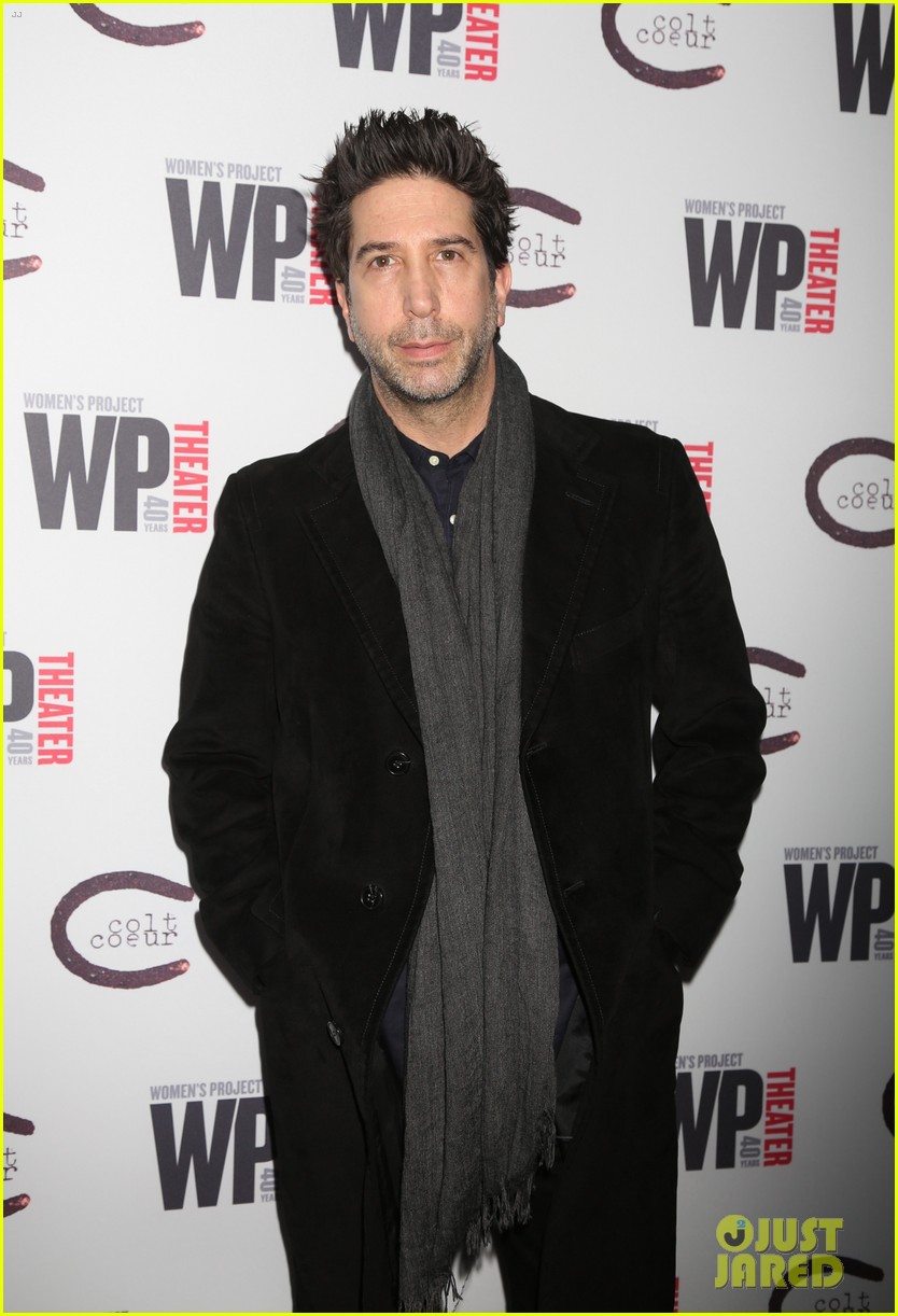david schwimmer off broadway opening 03
