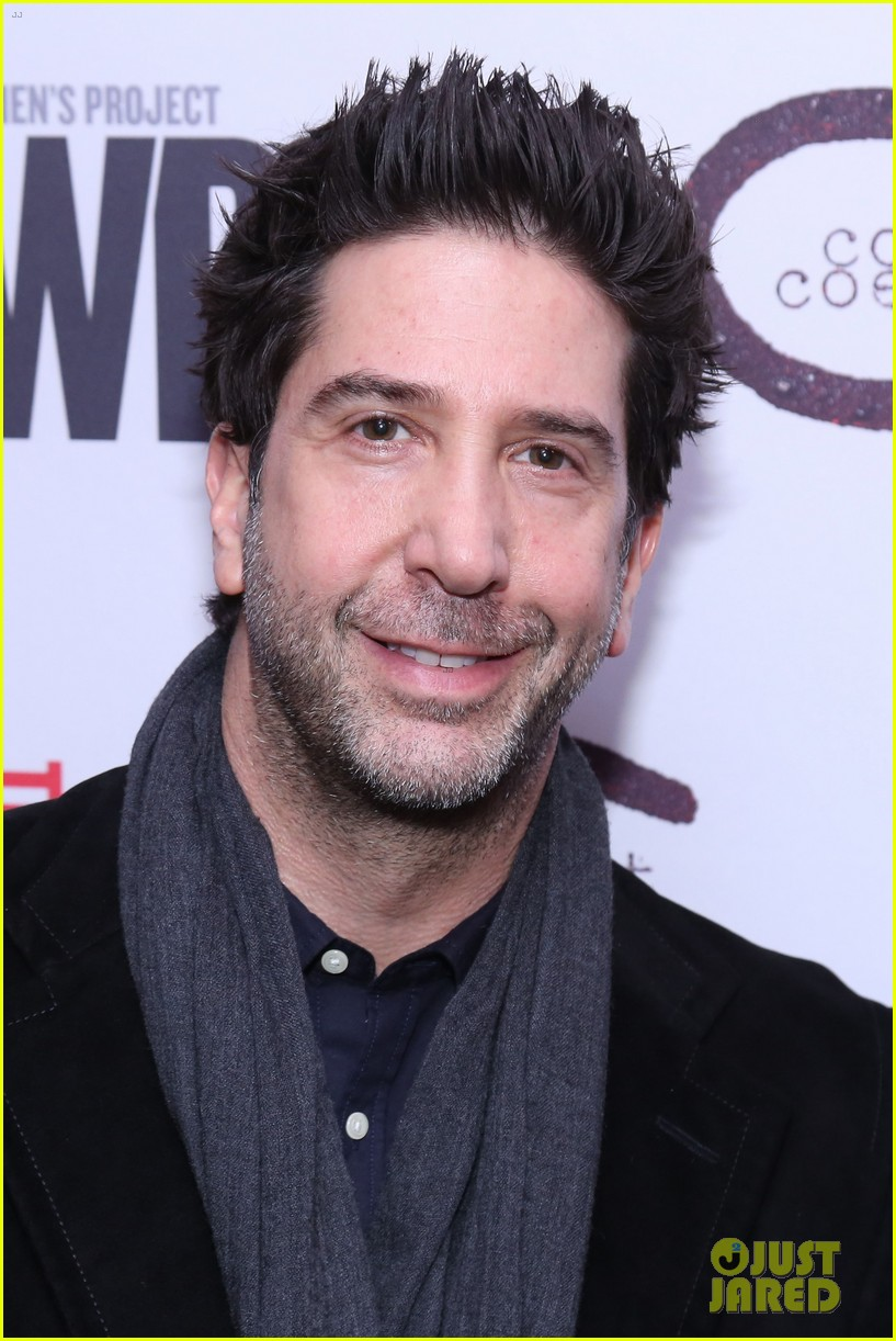 david schwimmer off broadway opening 06