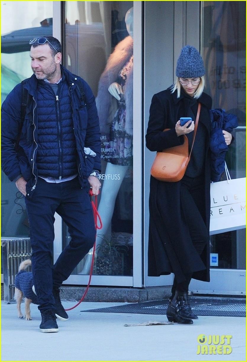 Liev Schreiber Spends the Day with Girlfriend Taylor ...
