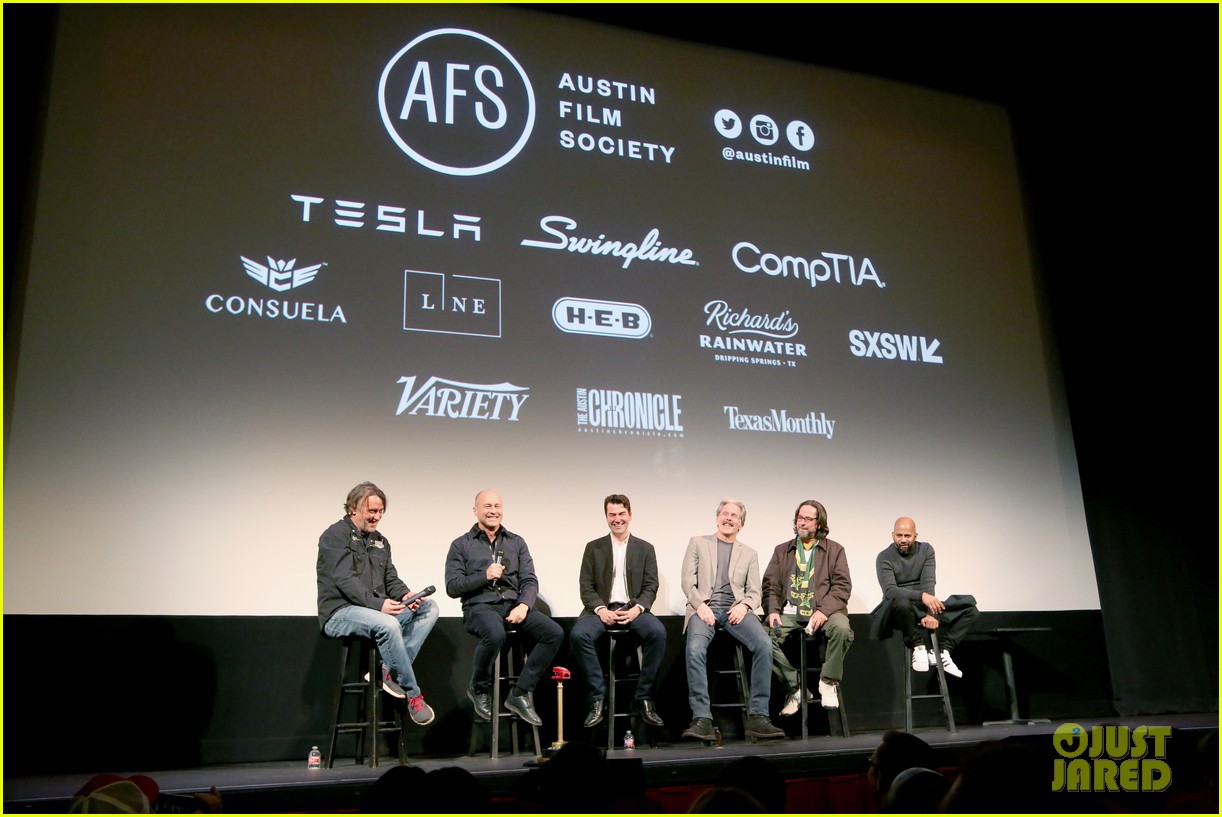 ron livingston gary cole office space cast reunite for 20th anniversary screening 014253217