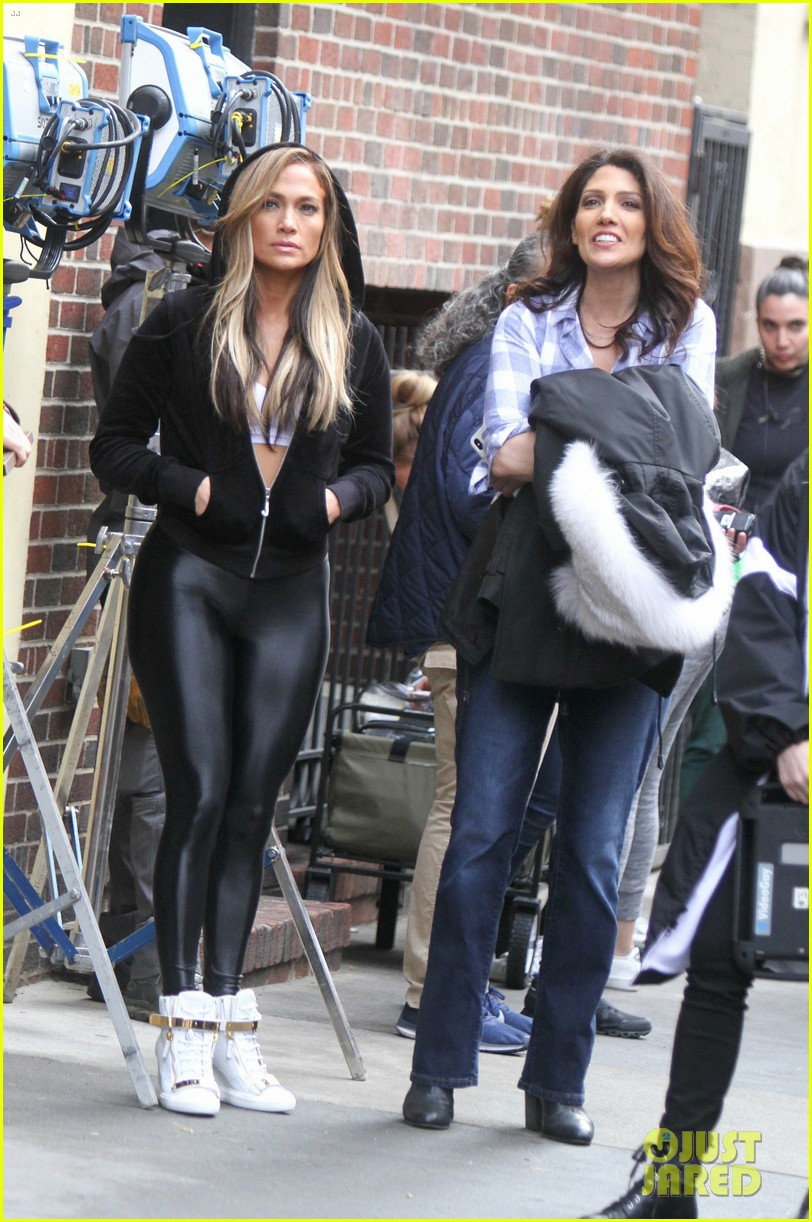Jennifer Lopez Gets In Trouble With The Law On The