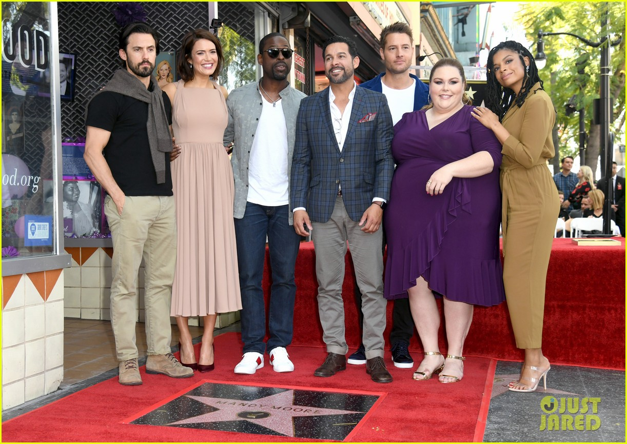 mandy moore this is us hollywood walk of fame 014262754