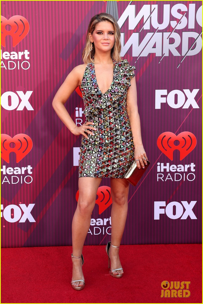 Maren Morris Shimmers At The Iheartradio Music Awards 2019
