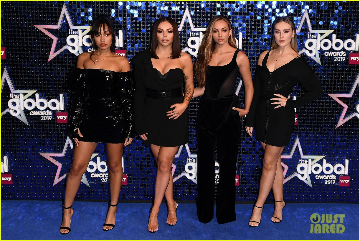 mark ronson joins little mix at global awards 01