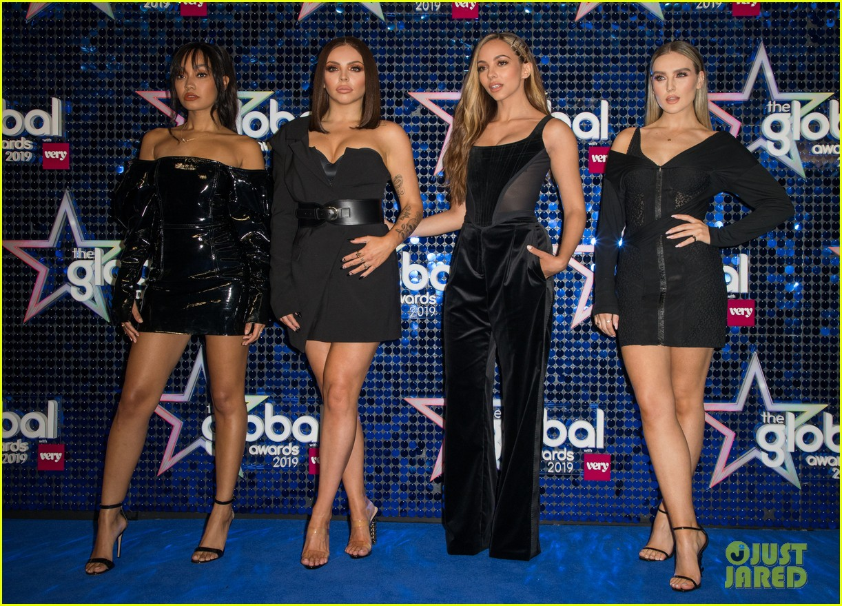 mark ronson joins little mix at global awards 04
