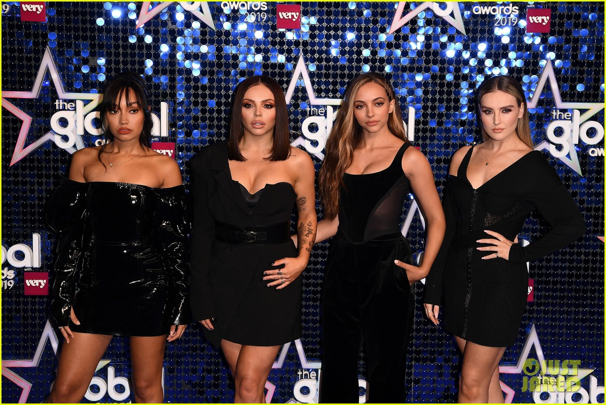 mark ronson joins little mix at global awards 10