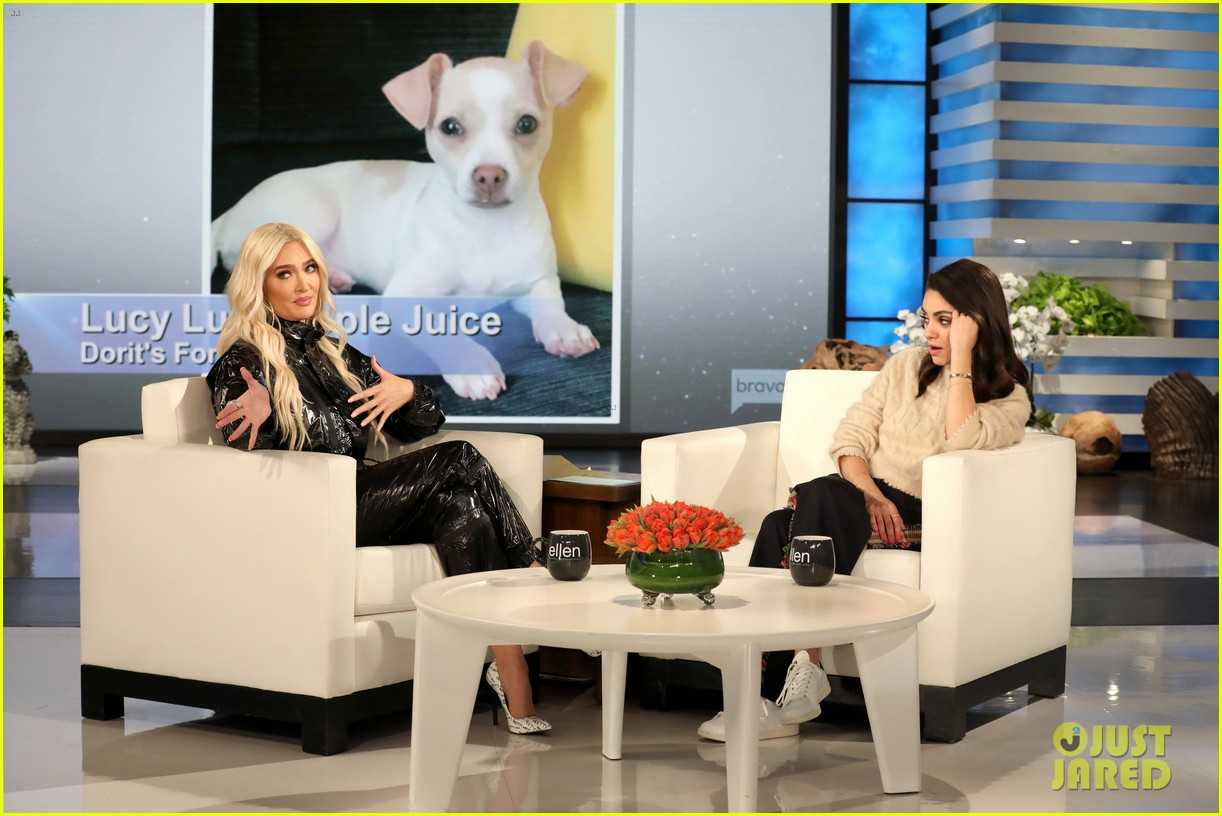 Brilliant Mila Kunis Takes Over The Ellen Show Talks Puppygate Ocoug Best Dining Table And Chair Ideas Images Ocougorg