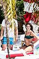james franco isabel pakzad lounge poolside in miami 01