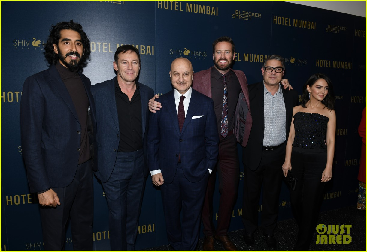 dev patel armie hammer hotel mumbai screening in nyc 044258494