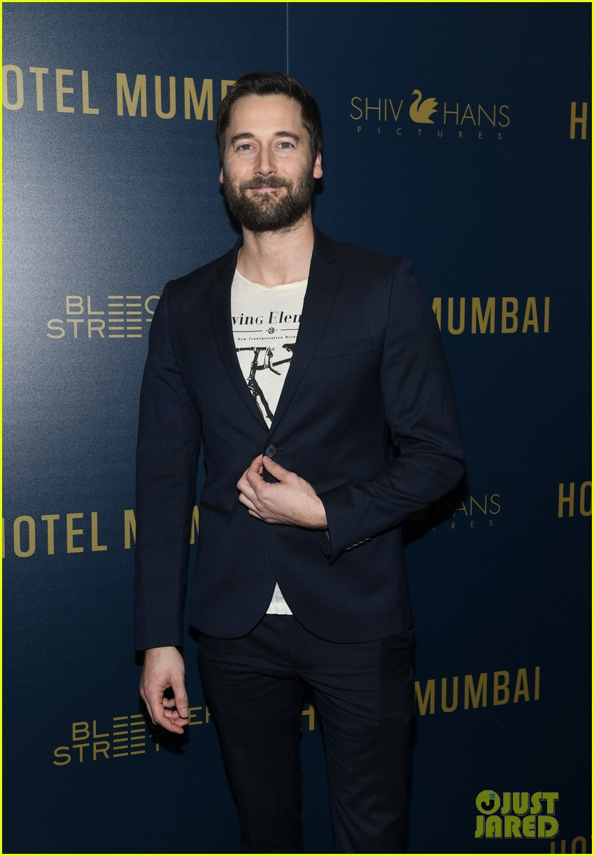 dev patel armie hammer hotel mumbai screening in nyc 124258502