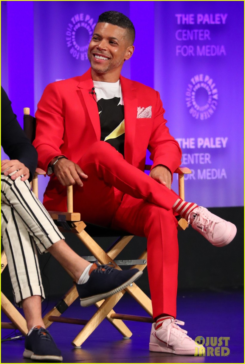 jordan peele ginnifer goodwin adam scott on twilight zone panel at paleyfest 06