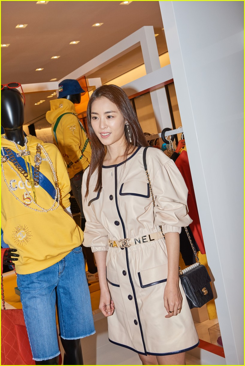 7a19997b9 Pharrell Williams Parties With BLACKPINK s Jennie at Launch of Chanel- Pharrell Capsule Collection in Seoul!