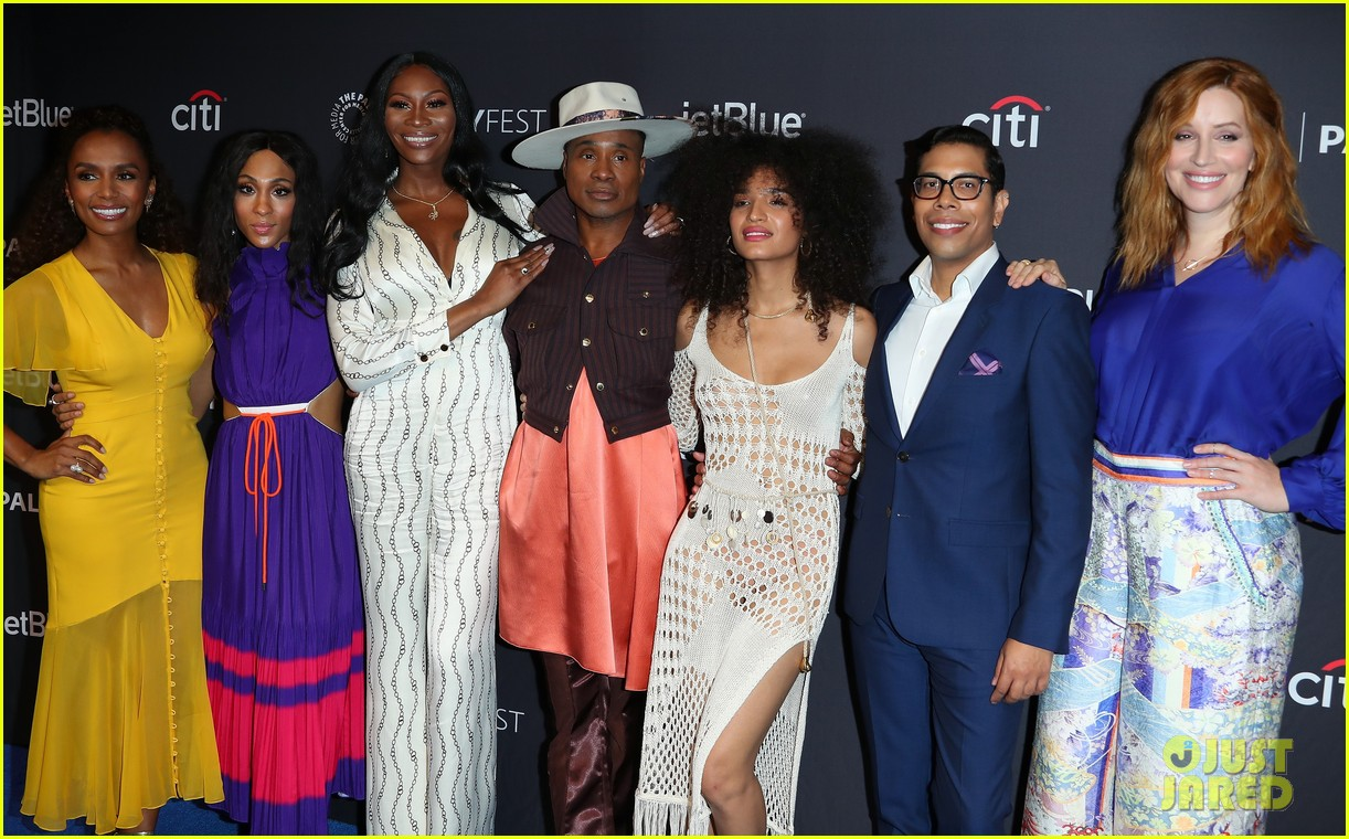 the cast of pose promote season two at paleyfest 044261657